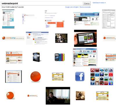 Come ottimizzare le immagini per google e motori di for Ricerca per immagini google