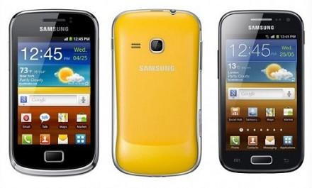 Al MWC spazio al Galaxy Ace 2 e al Galaxy Mini 2