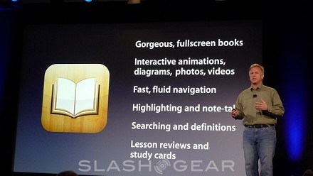 Apple ha presentato iBooks 2 e iBooks Author