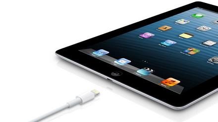 Connettore Lightning per l'iPad 4