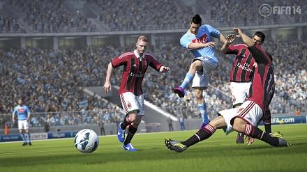 contenuti della prima versione demo di FIFA 14