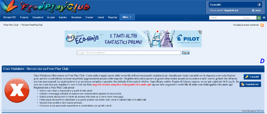 Free Play Club, nuovamente online dopo il sequestro preventivo