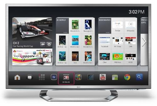 LG Google TV CES 2012 Las Vegas