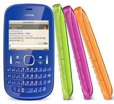 Nokia Asha 200, cellulare dual SIM