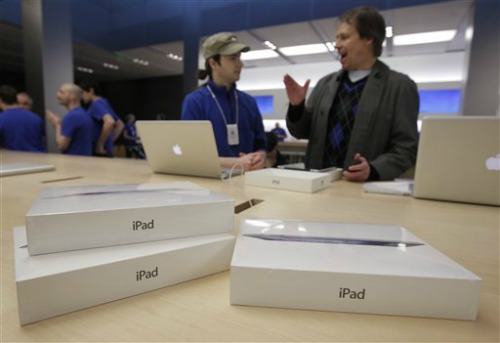 Nuovo iPad 3 Apple Tablet Problemi Temperatura Schermo Giallo Smart Cover Batteria