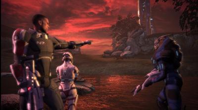 Uno screenshot di Mass Effect 2