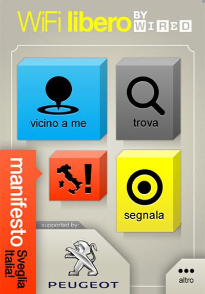 Wired Wi-Fi Libero - Sveglia Italia su iPhone